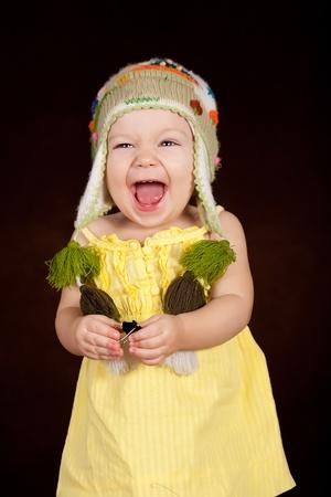 Sweet baby girl photo