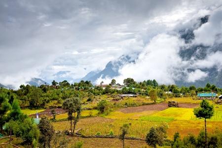 Scenic view of the Himalaya mountains Reklamní fotografie
