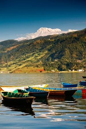 Lake in Pokhara photo