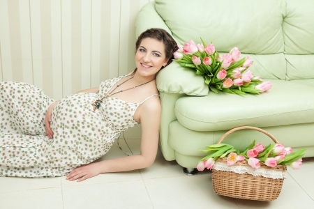 Pregnant female Stock Photo - 15039141