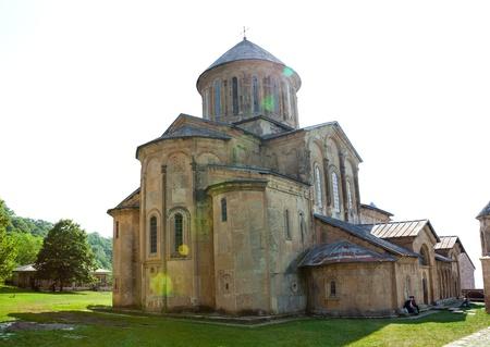 gelati: Old Gelati Monastery near Kutaisi in Georgia