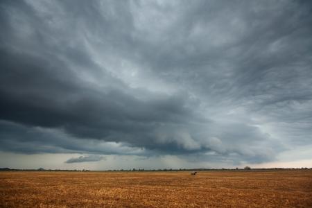Bad weather is coming Archivio Fotografico