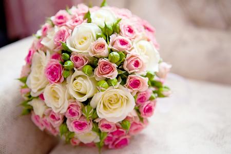 Hochzeit Blumeblumenstrauß Lizenzfreie Bilder