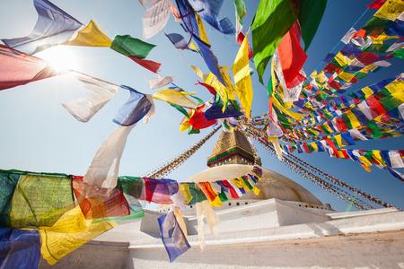 Wijsheid ogen, Bodhnath, Nepal