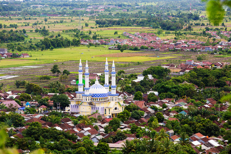 lombok: Mosque in Lombok, Indonesia
