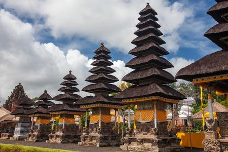 Taman Ayun Temple (Bali, Indonesia) on a beautiful sunny day Фото со стока