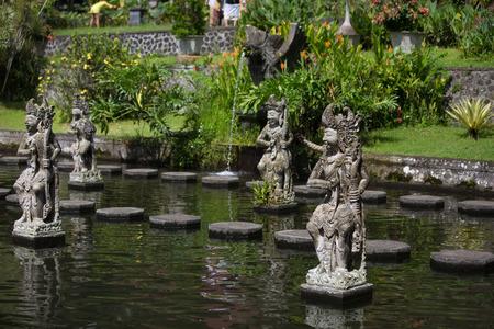 Tirtagangga water palace on Bali island, Indonesia photo