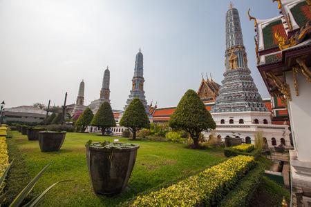 luxurious: Bangkok luxurious royal palace in Thailand Editorial