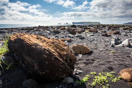 plains: View at Icelandic plains during summertime