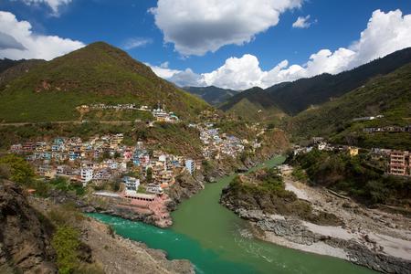 devprayag: Ganga River