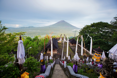 Temple Of Lempuyang Luhur on Bali in Indonesia