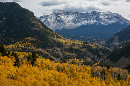 Amazing landscapes of San Juan national forest in Colorado, USA Stock Photo