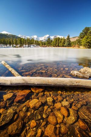 Lake in Colorado Rocky Mountains