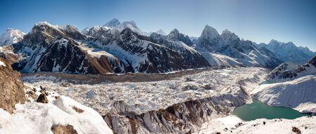 Beautiful landscape of Himalaya mountains