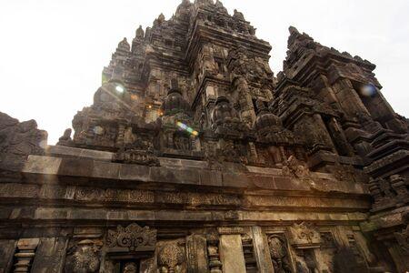 Prambanan temple near Jokyakarta, Java, Indonesia