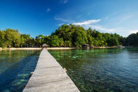 Scenic Togean island, Sulawesi, Indonesia