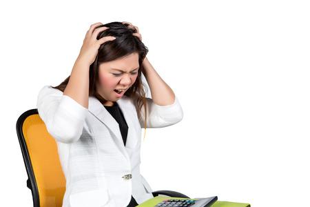 female asian business executive photo