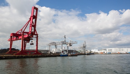 Osaka Port , Marine Cargo, photo