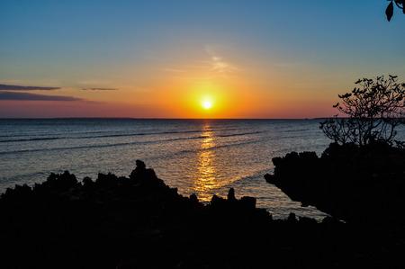 incomparable: sunset on the island of Zanzibar in Tanzania, Africa