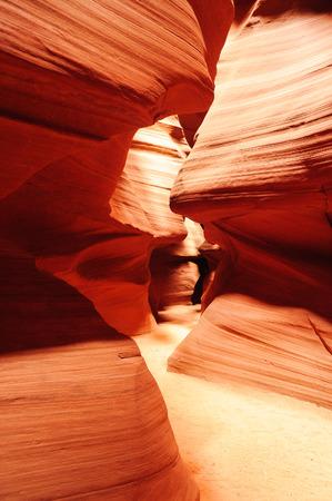 inside passage Antylope Canyon, Arizona photo