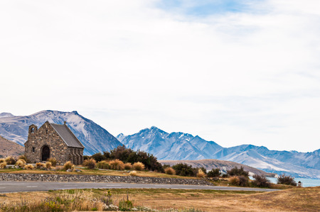 good shepherd: Church of the Good Shepherd at Lake Tekapo in Nueva Zelanda
