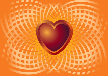illustration-background of a card to the Valentine's day, with the image Imagens - 6580358