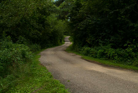 recreational area: Curving Road at Mariposa Recreational Area - Jasper County, Iowa