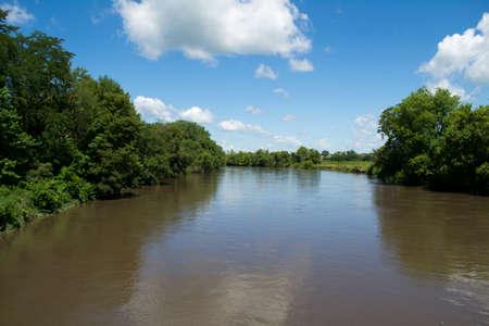 river county: South Skunk River from Metz Bridge - Jasper County, Iowa