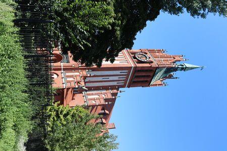 Church of the holy family Standard-Bild