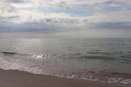 empty beach. Donskoje Standard-Bild