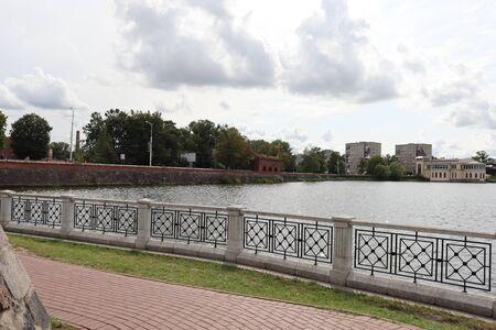 Kaliningrad. Embankment Standard-Bild