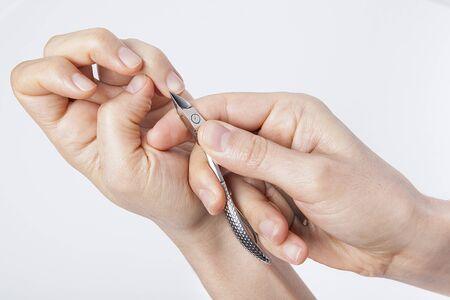 Manicure and pedicure. body care, spa treatments.
