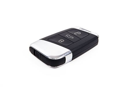 Car key on a white background.
