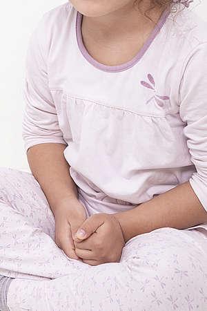 Portrait of sad little girl.