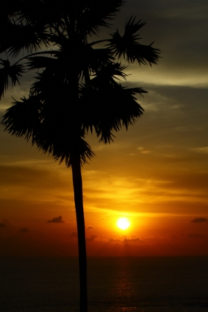 The Sun Down at Phuket photo