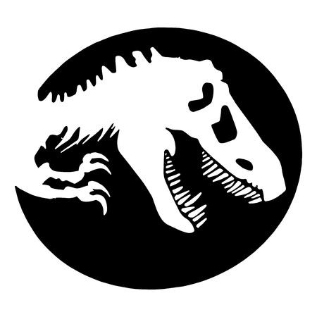 dinosaur: Dinosauro Tyrannosaurus Rex Vettoriali