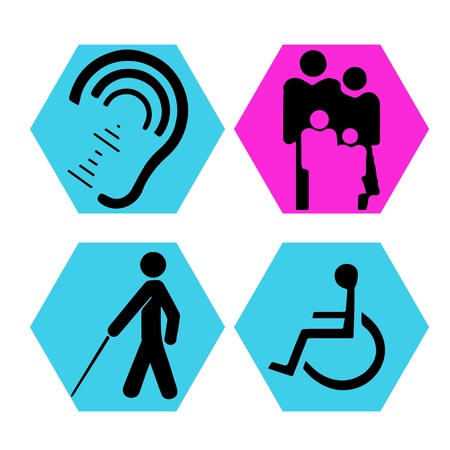Disabilities symbol Vector