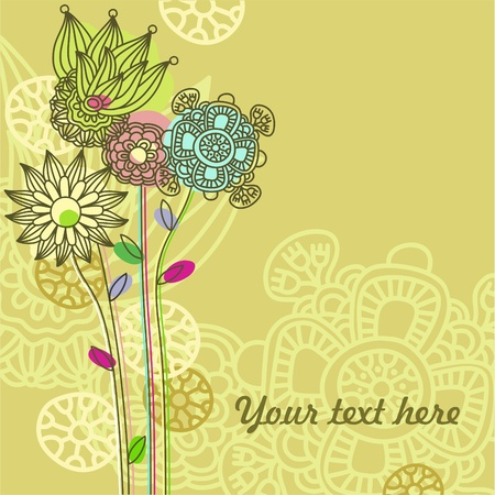 floral background  Stock Vector - 11159547
