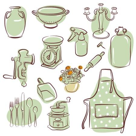delantal: los iconos de su casa