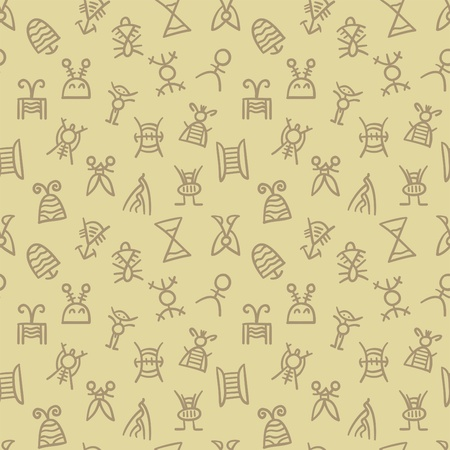 mishmash: abstract seamless pattern