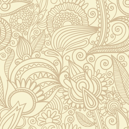 organic background: seamless pattern  Illustration