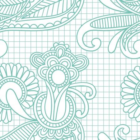 embellishments: seamless pattern  Illustration