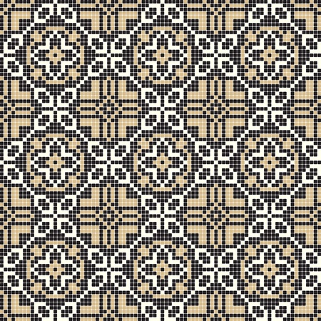 ottoman fabric: ornate seamless pattern  Illustration