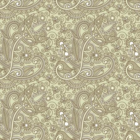 indian design: seamless pattern  Illustration