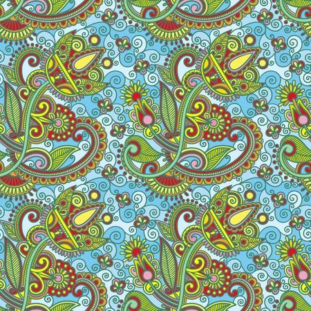 revival: seamless pattern  Illustration