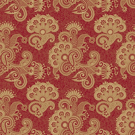 henna design: seamless vendimia