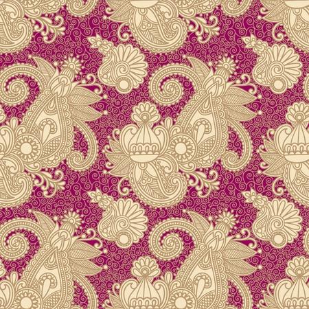 'indian pattern': vintage seamless pattern  Illustration