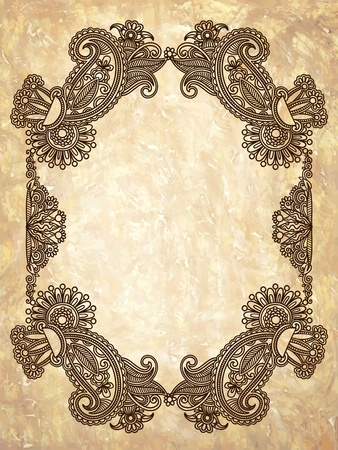 Vintage frame. To see similar, please visit my gallery Stock Vector - 11189753