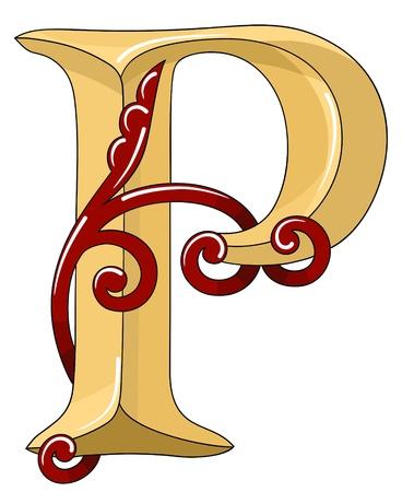 originele vector hand getekende alfabet