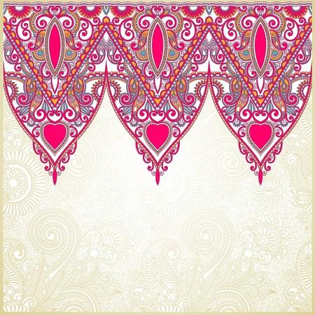 friso: Ornamentales de banda sin fisuras, elemento decorativo